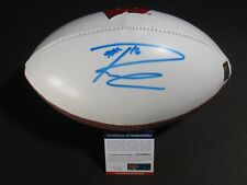 b71034a2be9 RUSSELL WILSON SIGNED AUTOGRAPHED RAWLINGS FOOTBALL BADGERS SEAHAWKS PSA