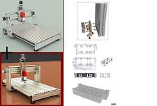 2x cnc router plans table 3th 3 axis bauplan 3D CAD Engraving XY:820x603 Z:129mm