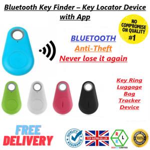 Find my Keys Device Bluetooth 4.0 Car Key Finder Bag GPS Tracker Locator itag UK