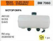 302000016 SERBATOIO MOTOPOMPA EMAK OLEOMAC EFCO DYNAMAC AK100 SC55 SA45