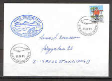Norway 0747 Cover 1985 Svalbard Expedition NORTH