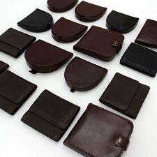 Portamonete Pelle Uomo-Donna Borsellino Portafogli G001 Modelli diversi