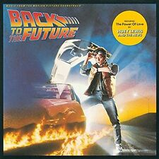 BACK TO THE FUTURE VARIOUS ARTISTS CD ALBUM (1985)