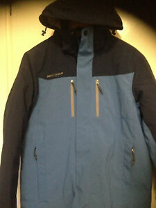 ZeroXposur Mens Ski Snowboard Jacket Winter Coat Blue&navy insulated shell