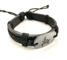 Women men bracelet Bangle Leather bracelet Friendship Charm Bracelet for men