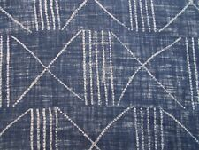 Ralph Lauren Cortina/Tela de tapicería 'Lagos'S INDIGO 3 metros - 100% Lino