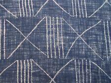 Ralph Lauren Curtain Upholstery Fabric Lagos Indigo - 100 Linen Design 3.0m