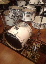 Yamaha Stage Custom Birch 5-piece Acoustic Drum Set-Pure White (PW)~FREE SHIRT