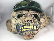 Monster Mask Halloween Easter Unlimited Skeleton Baseball Hat Camouflage Scary