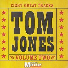 TOM JONES Eight Great Tracks Volume 2 ( Sunday Mirror Promo CD 2005 )