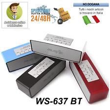 CASSA PORTATILE BLUETOOTH POTENTE PER SMARTPHONE PC SPEAKER ALTOPARLANTE WS-637