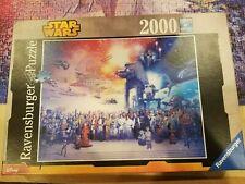 Ravensburger Jigsaw Puzzle STAR WARS Universe Galaxy Charactors 2000 pieces