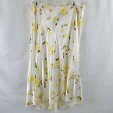 BANANA REPUBLIC NWT Womens Size 12 Skirt Floral Asymmetrical Midi $98 MSRP NOS