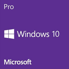 WINDOWS 10 PRO 32 / 64BIT PROFESSIONAL LICENSE KEY ORIGINAL OEM Product  CODE
