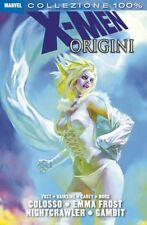 100% MARVEL:X-MEN ORIGINI 1 - COLOSSO, EMMA FROST, NIGHTCRAWLER, GAMBIT (2011)