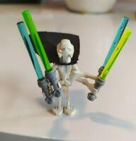 LEGO Star Wars General Grievous Minifigure Original w/ black cape 7656 rare