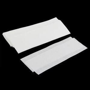 100 Stück Wachsstreifen Vliesstreifen Körperfreundlich  Spa Wax Strip Paper