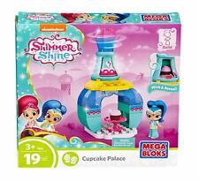 Mega Bloks Shimmer and Shine Genie Palace Bottle Shine Sweet Treats Building Set