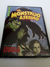 "DVD ""EL MONSTRUO ASESINO"" PRECINTADO SEALED FRANK A. STRAYER THE MONSTER WALKS"