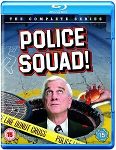 Police Squad!: The Complete Series Blu-Ray (Blu-ray) Leslie Nielsen, Alan North