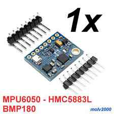 1x MPU6050 HMC5883L BMP180 Aceler.+giros. 3 ejes Arduino - GYROSCOPE+ACCELEROM.