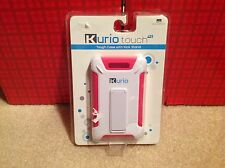 Fast Ship- New Kurio Touch 4S Tough Case With Kick Stand -Pink- Most Protection