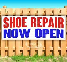 Shoe Repair Now Open Advertising Vinyl Banner Flag Sign Many Sizes