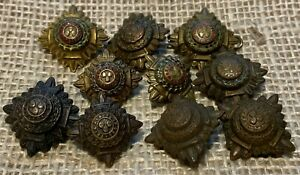 Assorted Army Shoulder Pips x10 Unresearched