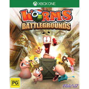 Worms Battlegrounds Xbox One aus game