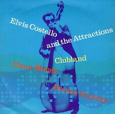 7inch ELVIS COSTELLO clubland UK 1980 EX+