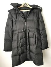 Kenneth Cole Reaction Black Puffer Winter Coat Size Medium Removeable hood