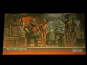 Topps Finest Widevision Star Wars Return of the Jedi Chrome Chase Card C2