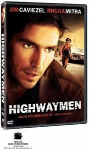 Like New WS DVD Highwaymen (2004) Jim Caviezel Rhona Mitra Colm Feore Frankie Fa