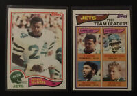 (2) 1982 Topps Freeman McNeil Rookie Cards #160 & #176. M/NM CRISP & CLEAN CARDS