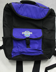 PRE-OWNED CRAZY CREEK PRODUCTS INSULATED LUNCH BOX BACKPACK BLACK/BLUE