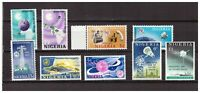 S22811) Nigeria MNH Space Sets 9v