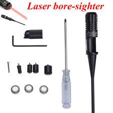 Red Laser Bore Sight Kit Boresighter for .22 to .50 Caliber Handgun Rifles Kit