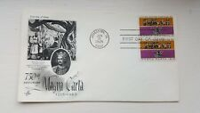 FDC US 750th Anniversary of Magna Carta first day cover Jun 15 1965