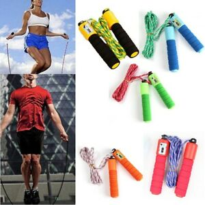 Skipping Skipping Rope Counter Jumping Fitness Plastic 2.3m Rope Length