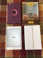 Apple iPad mini 4 16GB, Wi-Fi, 7.9in - Gold FLAWLESS CONDITION