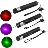 10000m 405/532/650nm 301 Laser Pointer Pen High Power Lazer Visible Beam Light