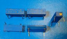 """Bourns 3099P-1-503 50K Ohm 3/4"""" Rectangular Trimming POT, DIP-14, 5pcs"""