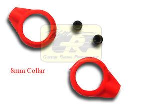 8mm SPRING COLLARS (2pc)  Kyosho Ultima Tomahawk Damper Shock RC  Team CRP 1577