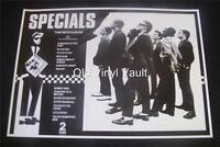 The Specials  Repro UK 2 Tone promo poster for 1st album 1979