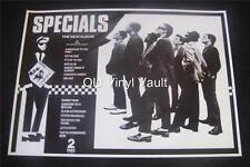 The Specials  Repro UK 2 Tone promo poster for 1st album 1979