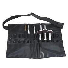 Cosmetic Makeup Brush Apron Artist Belt Strap Holder Bag Case PVC Professional
