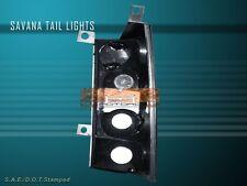 03 04 05 06 GMC SAVANA/CHEVY EXPRESS TAIL LIGHTS JDM BLACK