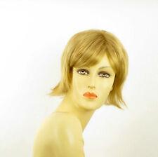Perruque femme courte blond doré CAPUCINE 24B