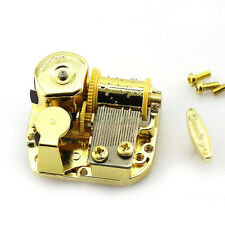 18 Songs for Choose! 18Note Windup DIY Gold Music Box Movement Elfen Lied Lilium