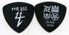 BIG 4 2010 Sonisphere Tour Guitar Pick!! METALLICA SLAYER MEGADETH concert stage